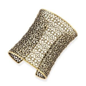 NEW Kendra Scott Jude Wide Filigree Cuff Bracelet